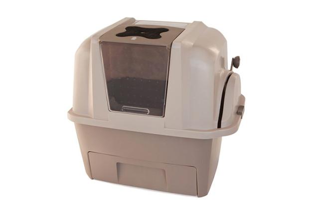 Grâce à la litière Catit de chez Smartsift, effectuez au plus vite les nettoyages