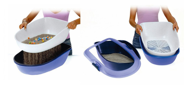 Pour des nettoyages aisés, optez pour le bac à litière Berto